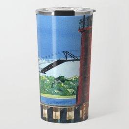 South Haven Lighthouse Travel Mug