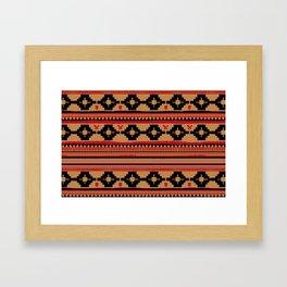 "The Repeat - ""Boho"" Framed Art Print"