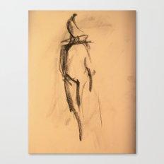 Shy Girl 1.0 Canvas Print