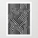 Dazzle Camo #01 - Black & White by largetosti