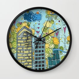Livin' In The City  Wall Clock