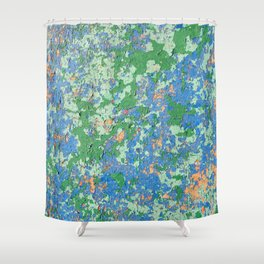 Aegean Colors Shower Curtain