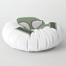 Army Gasmask Floor Pillow