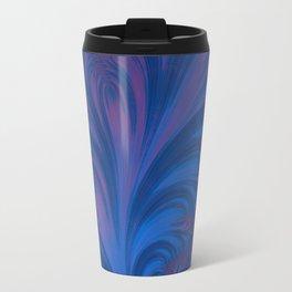 Stacking Hearts - Fractal Art Travel Mug