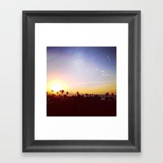 Sunrise, Sunrise Framed Art Print