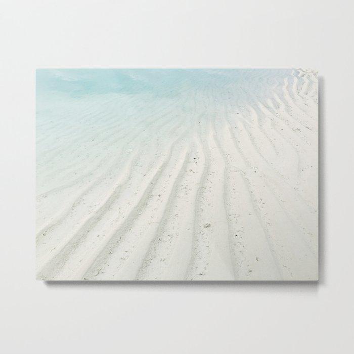 Sand Art Metal Print