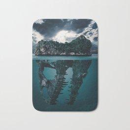 Dinosaur Island Mystery Bath Mat