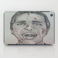 american psycho iPad Cases featuring American Psycho by A.H.