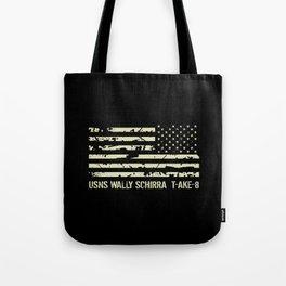 USNS Wally Schirra Tote Bag