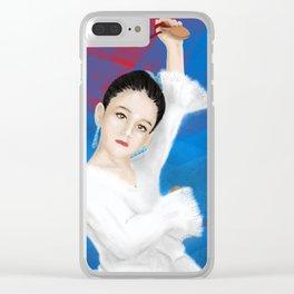 Little spanish girl Clear iPhone Case