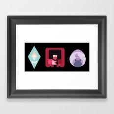 The Crystal Gems Framed Art Print