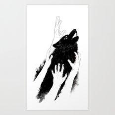 Wolves of Paris Art Print