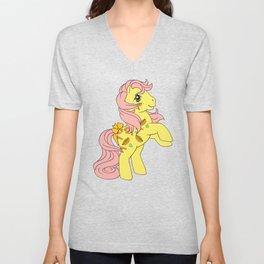 G1 my little pony Munchy Unisex V-Neck