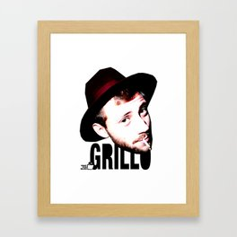 TOILET CLUB #grillo Framed Art Print