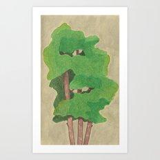 three in one Art Print