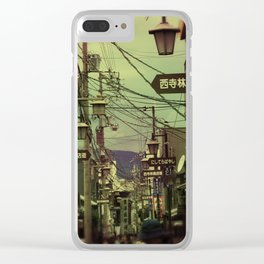 Wired City Clear iPhone Case