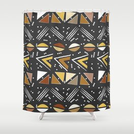 Mudcloth 2 Shower Curtain