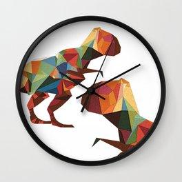 Polygone T-rex Wall Clock