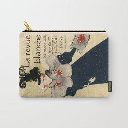 Belle Epoque vintage poster, La Revue Blanche Carry-All Pouch