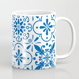 Azulejos Portugese tiles pattern Coffee Mug