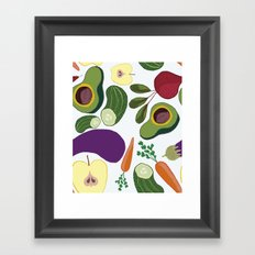 vegetables Framed Art Print
