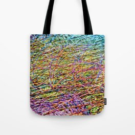 Electric Fence Tote Bag