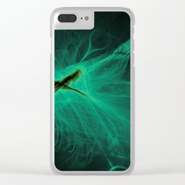 Glow Bug Clear iPhone Case