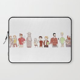 The Broship of the Ring Laptop Sleeve