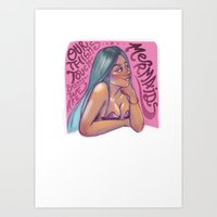 Mermaid Wisdom Art Print