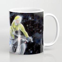 Space Motocross Coffee Mug