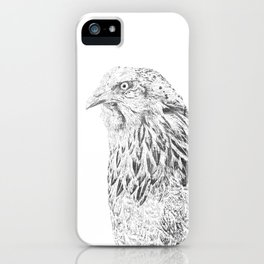 she's a beauty drawing iPhone Case