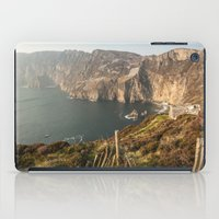 league iPad Cases featuring Slieve League by Marie Carr