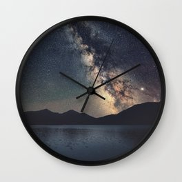 Mountain Magic Wall Clock