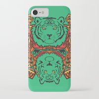 tigers iPhone & iPod Cases featuring Tigers by Ornaart