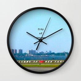 City of dreams.  Wall Clock