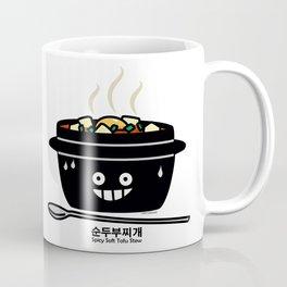 Korean Spicy soft Tofu Stew soup Sundubu jjigae hot Coffee Mug