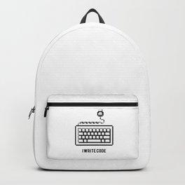 I write code Backpack