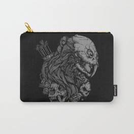 Prehistoric Girl Carry-All Pouch