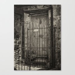 Old doorway Canvas Print