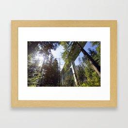 I-90 Framed Art Print
