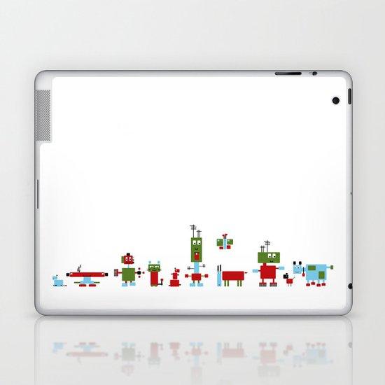 Robots-RGB Laptop & iPad Skin