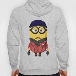 Hipster Minion Hoody
