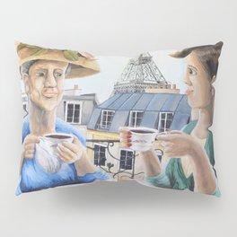 Tea Time in Paris Pillow Sham