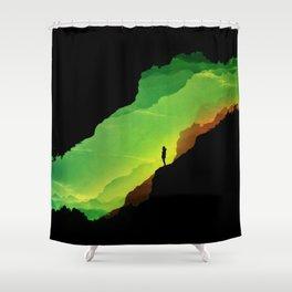 Toxic ISOLATION Shower Curtain
