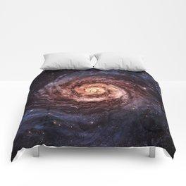 Spiral Galaxy Comforters