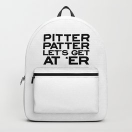 PITTER PATTER Backpack