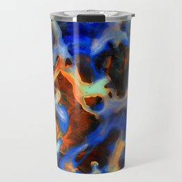 Synapse Abstract Painting Travel Mug