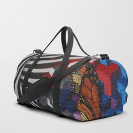 """The only constance is Change"" Duffle Bag"