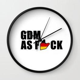 GDM AS F*CK Wall Clock