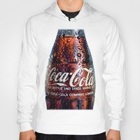 coca cola Hoodies featuring The Real... by LesImagesdeJon